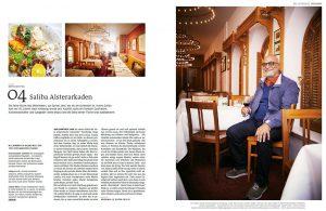 """Vorschaubild Saliba in Zeitschrift """"Der HAMBURGER"""""""